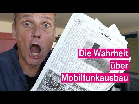 Social Media Post: Mobilfunklöcher - Ein Erklärungsversuch der Telekom
