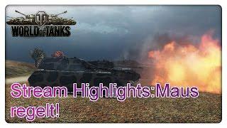 Stream Highlights: 3. Gunmark auf der IS-7 + 3er Platoon Maus