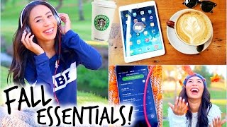 Fall Essentials! Hair, Outfits, Drinks, Apps and More!