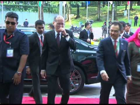 Arrival at Kuala Lumpur Convention Centre (KLCC) 11/21/2015