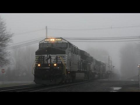 Upper Trenton & Eastern Lehigh Line Action, Railfanning, Hillsborough - Manville, NJ Apr 2,3,4, 2018