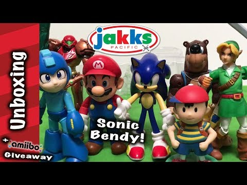 Jakks Pacific Sonic Bendy Unboxing And Review!