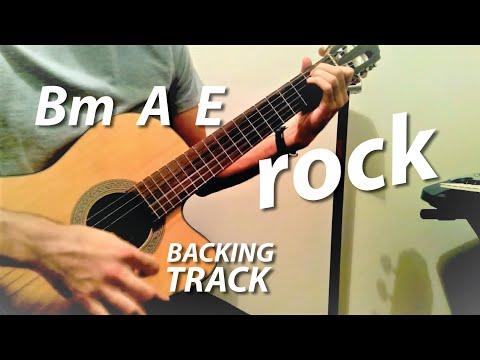 Bm A E Chords Guitar Backing Track (Wicked Game Karaoke) - YouTube