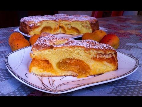 Пирог с Абрикосами/Абрикосовый Пирог/Apricot Pie/Очень Простой Рецепт(Быстро и Вкусно)