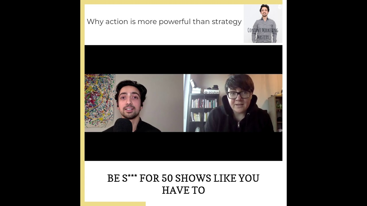 Why action is more powerful than strategy