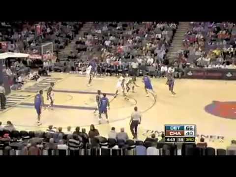 NBA IVERSION Detroit Pistons vs Charlotte Bobcats 12-13-08
