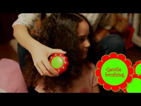 Tangle Teezer Magic Flowerpot Children's Hairbrush   Child's Detangler