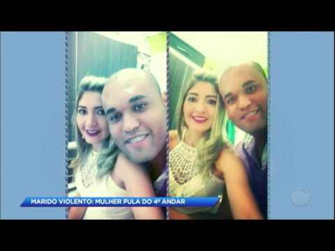 Justiça pede prisão de marido que agrediu a esposa até ela pular do quarto andar