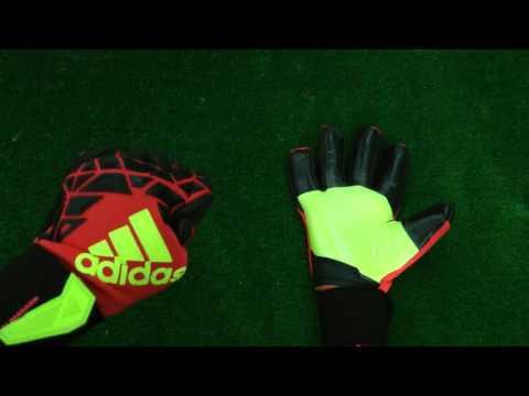 pétalo Desnudarse Honestidad  Adidas Ace Zones Trans Climawarm Goalkeeper Glove Preview - YouTube