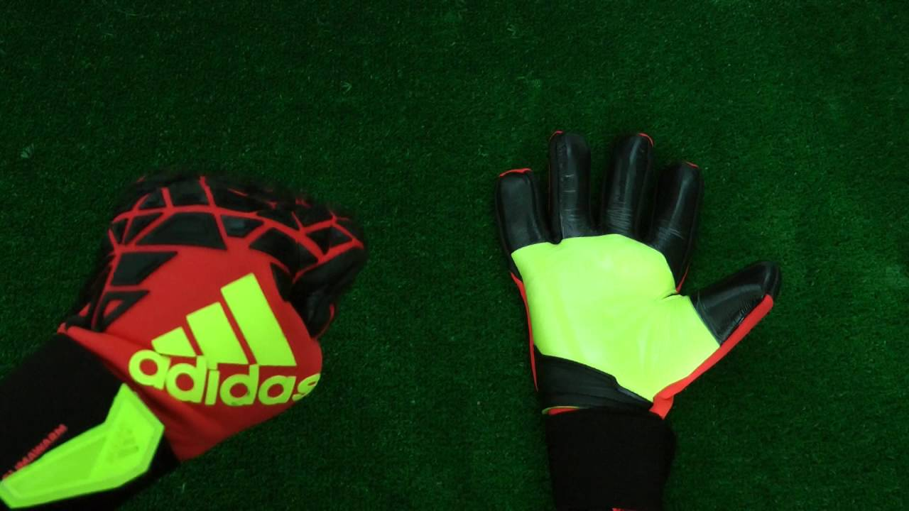wholesale dealer cc3c3 44aed Adidas Ace Zones Trans Climawarm Goalkeeper Glove Preview