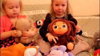 Обзор мягких игрушек Свинка Пеппа Лунтик Чебурашка и другие Видео для детей