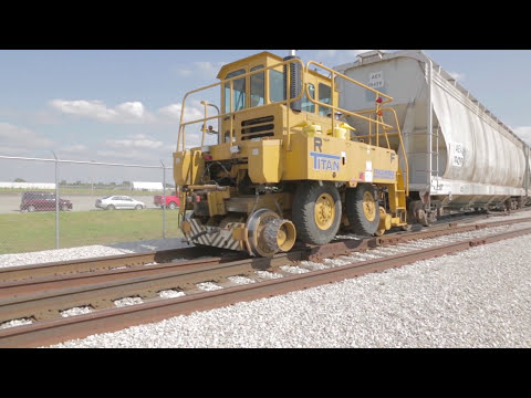 Trackmobile Coupler Mechanism: Connecting to Railcars with Ease & Best in Class Drawbar Pull