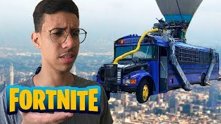 What really happens in the battle bus in the Fortnite...