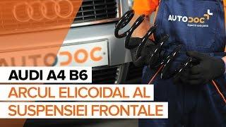 Cum se inlocuiesc arc de suspensie din față pe AUDI A4 B6 TUTORIAL | AUTODOC