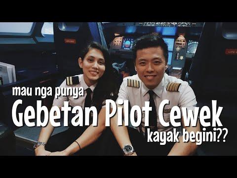 Uji Coba Pilot Cewe Yang Ga Biasa Terbangkan Pesawat Besar
