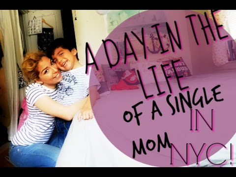 A DAY IN THE LIFE OF A SINGLE MOM | NYC VLOG 17 | LULU & ARAM