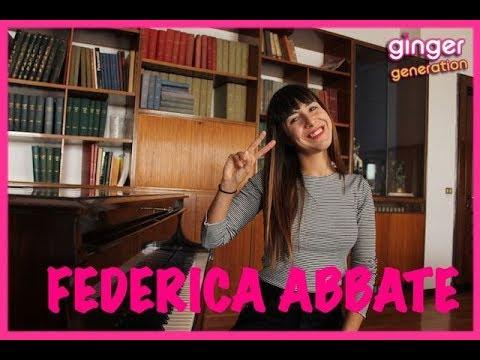 Federica Abbate presenta il singolo Fiori sui balconi - INTERVISTA!