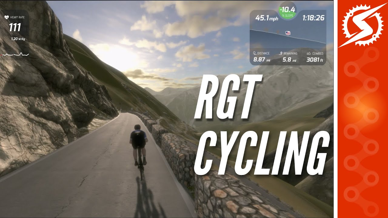 RGT CYCLING APP REVIEW: You NEED to Try It! - YouTube