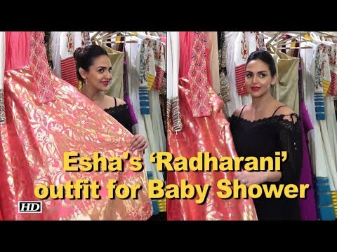 Mom-To-Be Esha gets 'Radharani' outfit for Baby Shower