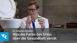 Was die Farbe des Urins über die Gesundheit verrät   Dr. Johannes Wimmer