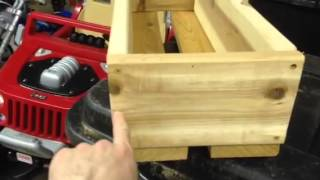 Building Homemade Flower Boxes
