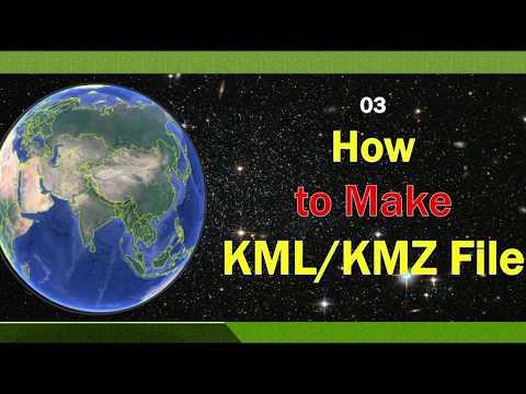 Create Point  Line Polygon  KML/KMZ Files in Google Earth