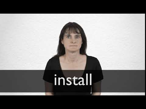 Install Synonyms | Collins English Thesaurus