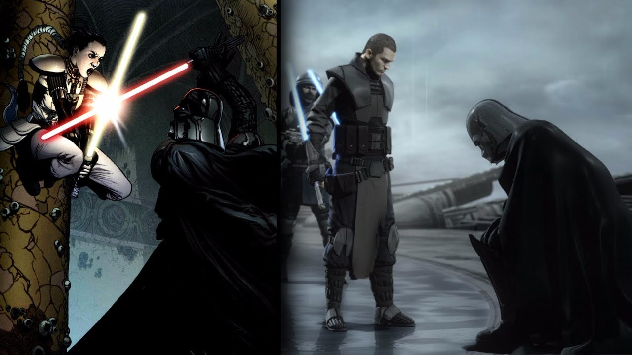 All Jedi that Defeated Darth Vader [Legends] - ViYoutube
