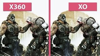 Gears of War – Xbox 360 vs. Xbox One Screenshots Graphics Comparison [60fps][FullHD]