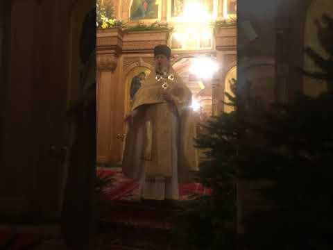 Проповедь в Храме Святителя Николая в Покровском