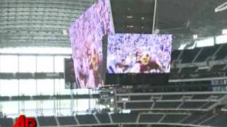 Are Cowboys Video Screens Too Low?