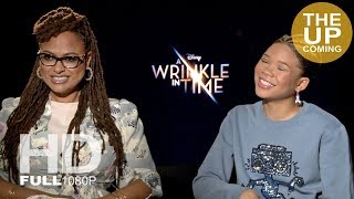 Ava DuVernay and Storm Reid interview on A Wrinkle in Time