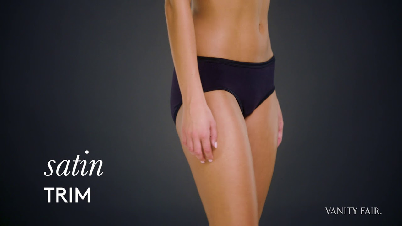 68a5a79df25 Vanity Fair® Body Illumination® Hipster Panty - YouTube