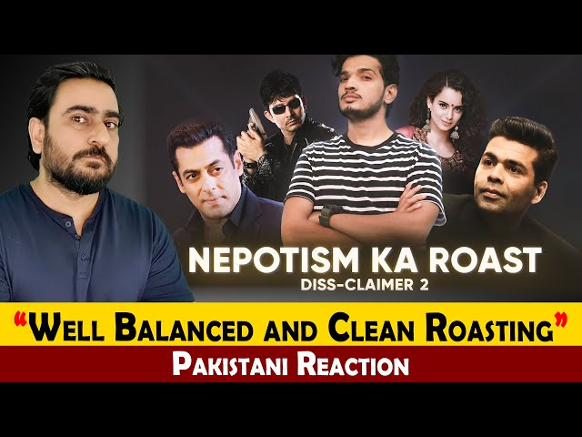 NEPOTISM KA ROAST BY MUNAWAR FARUQUI | DISS-CLAIMER 2 | IAmFawad Reaction