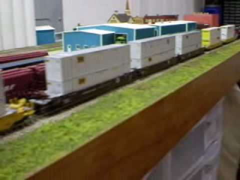 N scale layout on the wall in my garage youtube for N scale bedroom layout