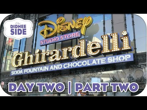 DISNEY STUDIO STORE HOLLYWOOD | CALIFORNIA VLOGS DAY 2 - PART 2 | Our Didnee Side