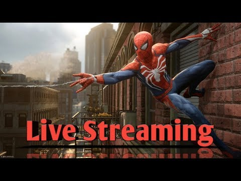 Spider-Man PS4 PRO! : Live Streaming In The Rafcave!