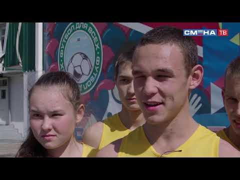 Интервью с победителями в эстафетном беге среди сельских классов-команд - село Чураево, БР