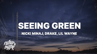 Download Nicki Minaj, Drake, Lil Wayne - Seeing Green (Lyrics)