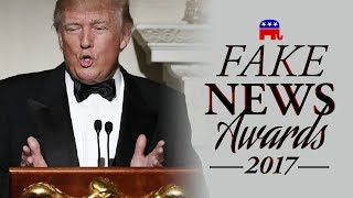 GOP & Donald Trump Present: The Fake News Awards 2017. Hosted by ABL. (FULL)