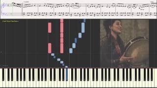 Amina Alaoui - Hija mia (Ноты и Видеоурок для фортепиано) (piano cover)