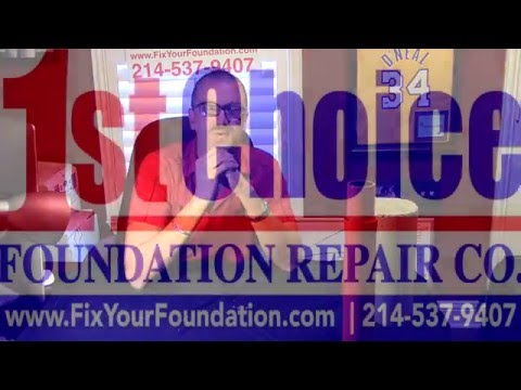 Steel vs Concrete Foundation Repair in Arlington Texas