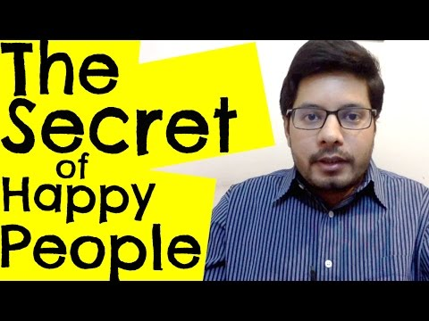 How to Be Happy - The Secret to Happiness - MindBodySpirit by Suyash