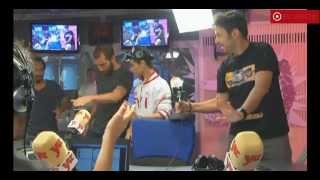 Abraham Mateo (14 años)  Entrevista en la Radio YU de Madrid