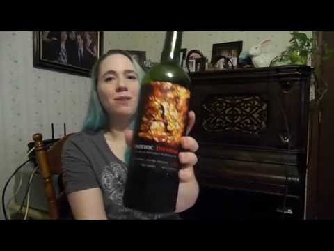 Diana with Wine! Apothic Inferno Wine Review