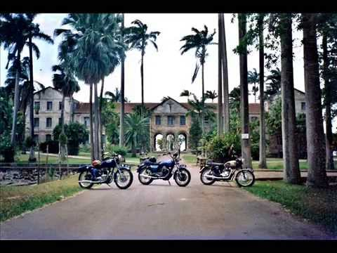 My classic bikes and cars in Barbados