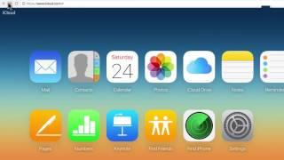 iCloud 2017 Tutorial Apple iCloud
