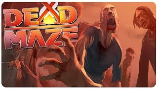 NEW ZOMBIE MMORPG, Project Zomboid Inspired?   Dead Maze Gameplay (Closed Beta)