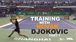 Training With Novak Djokovic (TENFITMEN)