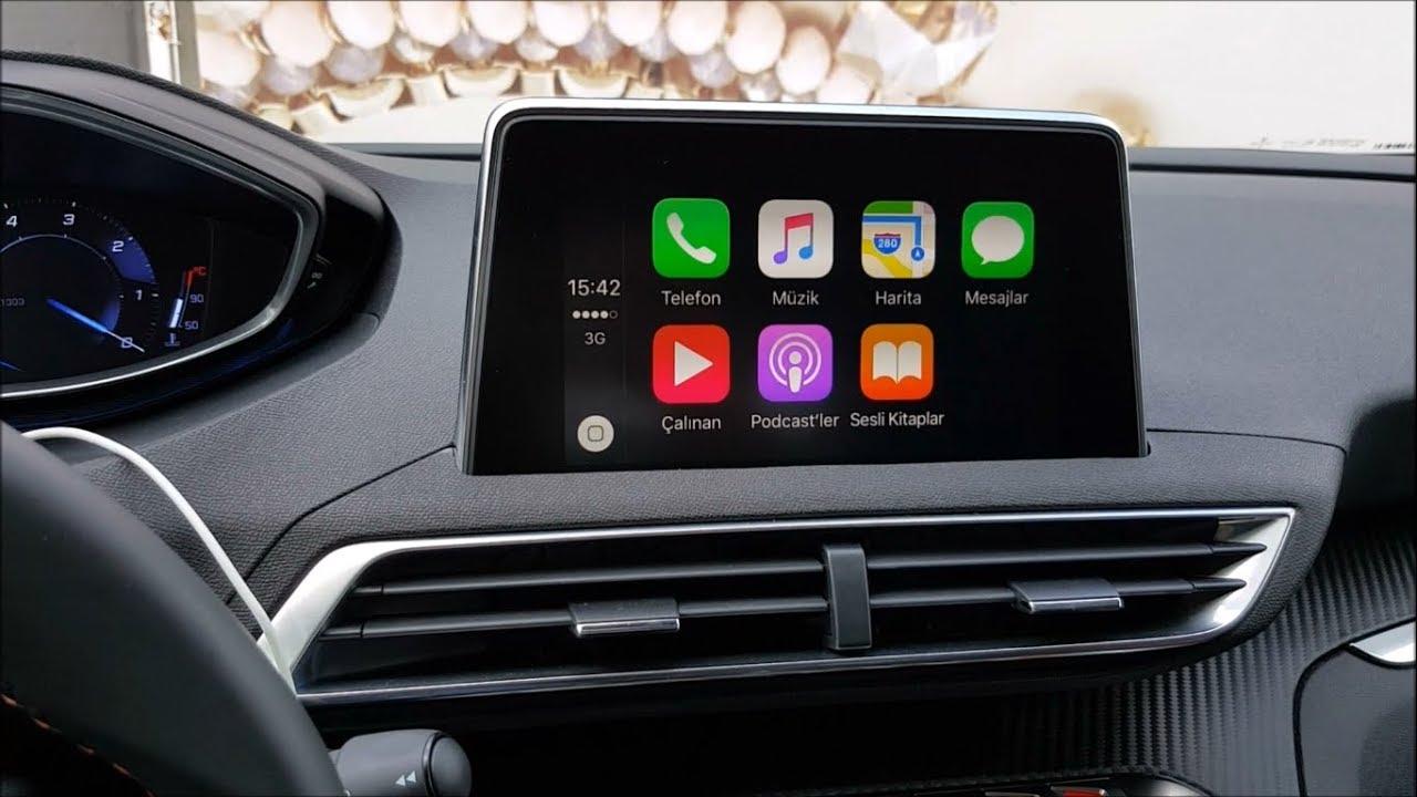 Peugeot 3008 Apple CarPlay Call, Send Message and Navigation Using